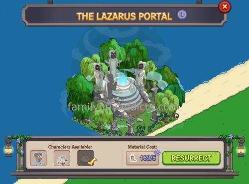Lazarus Portal Open Again