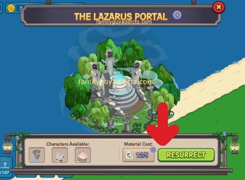 Lazarus Portal Resurrect