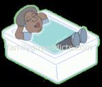 Loretta Brown Take A Relaxing Bath