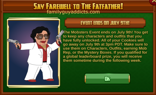 Say Farewell to Fatfather Pop Up