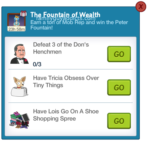 The Fountains of Wealth 4th Challenge