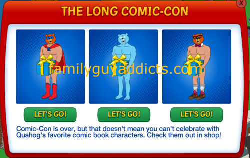 The Long Comic Con Pop Up