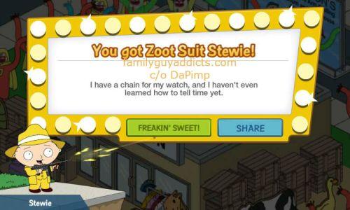 You Got Zoo Suit Stewie DaPimp