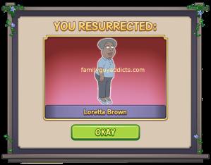 You Resurrected Loretta Brown