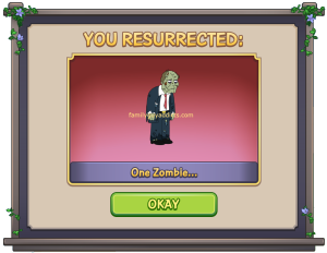 You Resurrected One Zombie