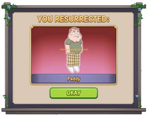 You Resurrected Paddy