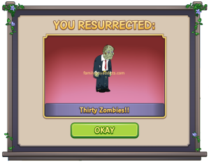 You Resurrected Thirty Zombies
