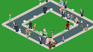 Zombies on the Quahog Streets