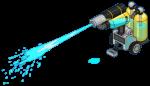 Blue Paint Cannon