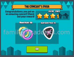 Concert's Over