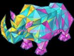 Neon Rhino