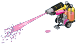 Pink Paint Cannon