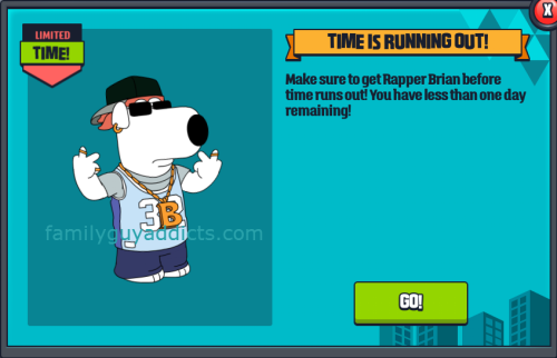 Rapper Brian Timer Running Out