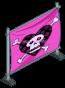 Skull & Heartbones Banner