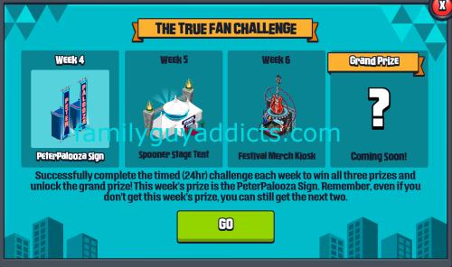 True Fan Challenge
