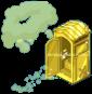 Golden PortaPotty