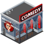 White & Nerdy Comedy Club