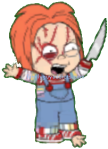 Chucky Play With Knives