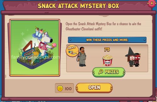 Snack Attack Mystery Box