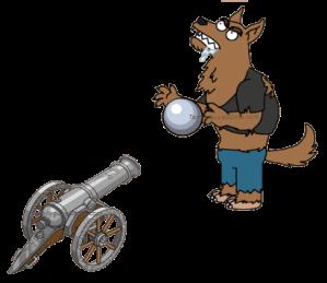 Werewolf & Silver Cannon