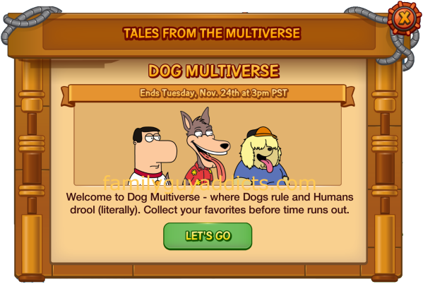 Dog Multiverse Pop Up