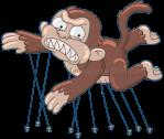 Balloon Evil Monkey