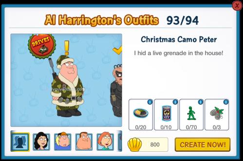 Christmas Camo Peter Al's