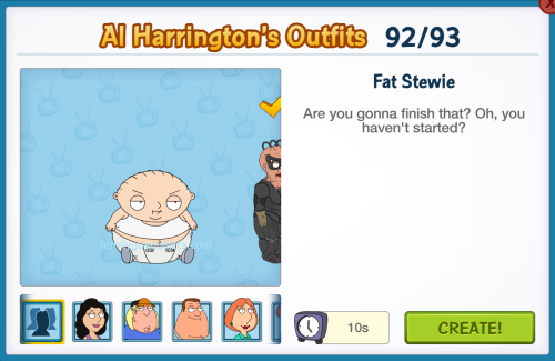 Fat Stewie Al Harrington's