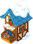 Santa's Village Blue Building