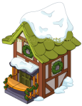 Santa's Village Green Building