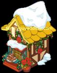 Santa's Village Yellow Building