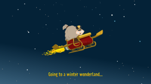 Travel To North Pole Splash Screen