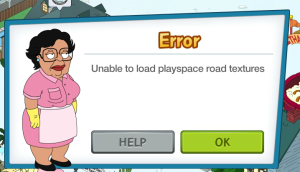 Unable to Load Playspace road Texture
