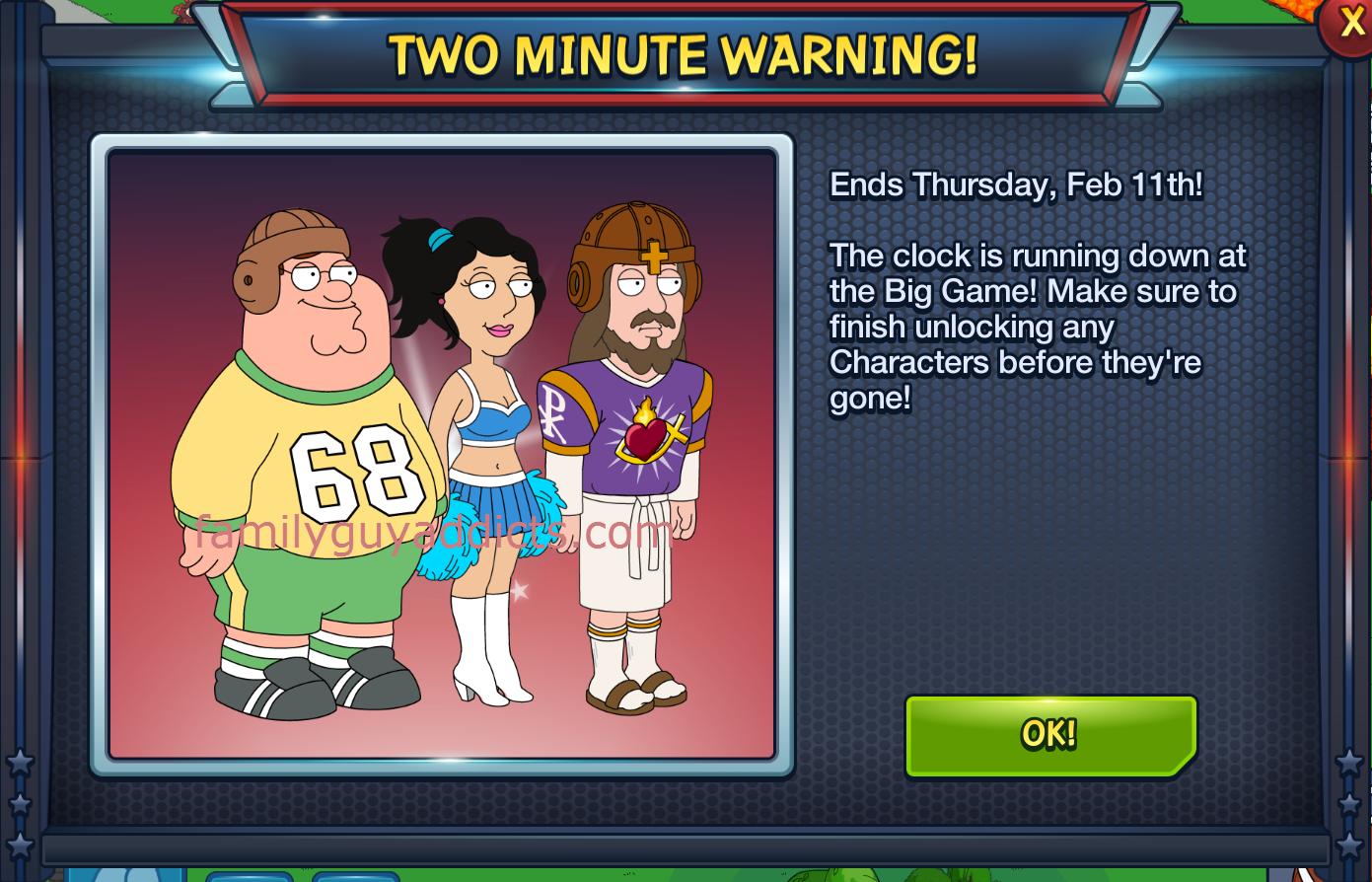 Family Guy Photo Finish