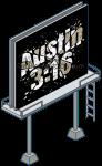 Austin 3 16 Sign