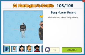 Borg Human Rupert Al's