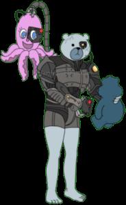 Borg Human Rupert Assimilate Stewie's Toys