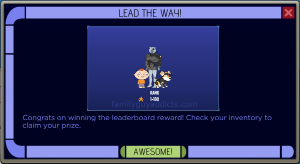 Star Trek Second Contact Leaderboard Prizes