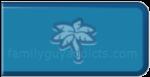 Stewie Bucks Palm Tree Button