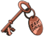 Tan Lines Resort Bronze Key