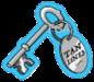Tan Lines Resort Silver Key