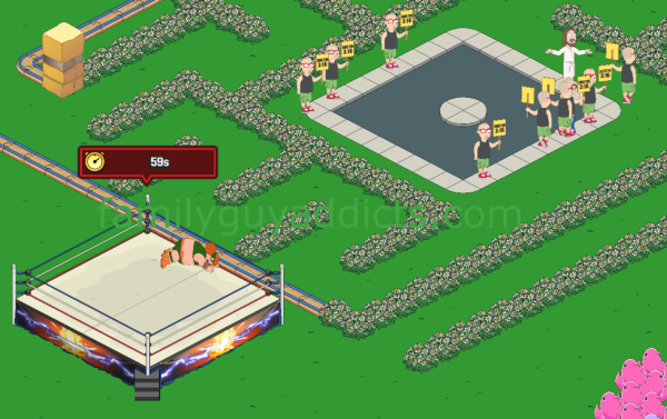 WWE Main Event Ring First Match Maxi Paddy & Fans