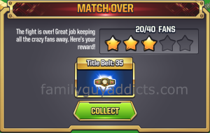 WWE Main Event Ring First Match Payout