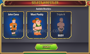 WWE Main Event Ring Second Match Select Wrestler