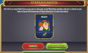 WWE Main Event Ring Start Match
