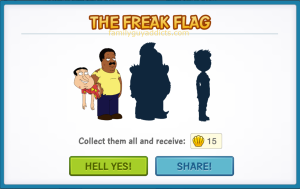 Clam Character Group Freak Flag