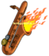 Flaming Saxophone