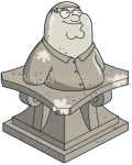 Mayor Peter Statue