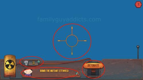 Mutant Stewie Target Screen 2