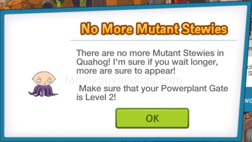 No More Mutant Stewies
